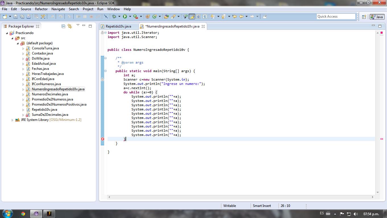 Java - Nuevo programando y con errores