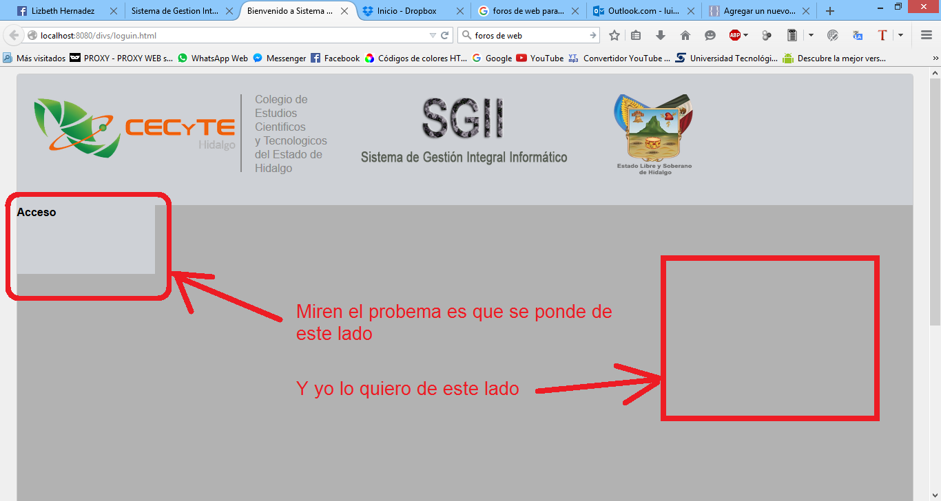 css how to detect where div is