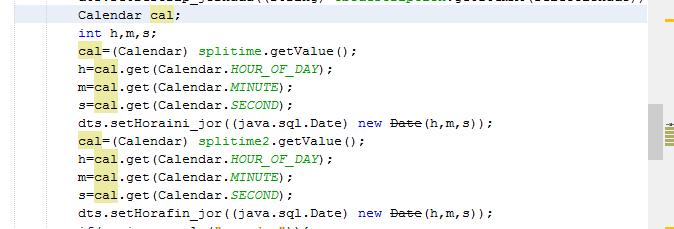 Java - spinner y obtener esos datos para mysql