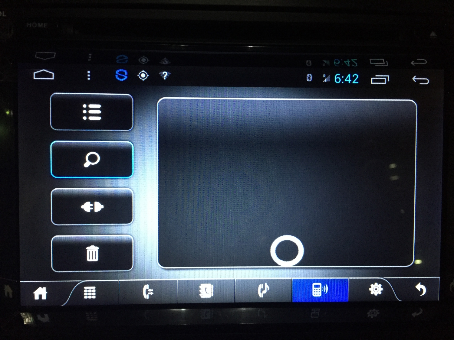 Android double din factory reset
