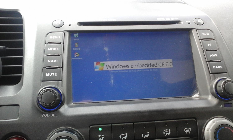 Windows Ce Interface Wince6 Estereo Auto