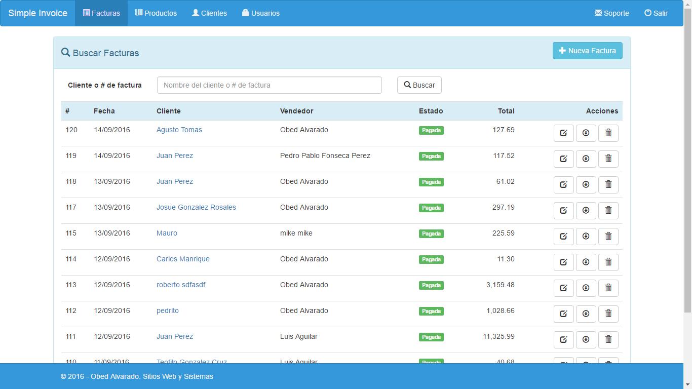 Código De PHP Sistema De Facturación Simple Con PHP - Como hacer un invoice de trabajo