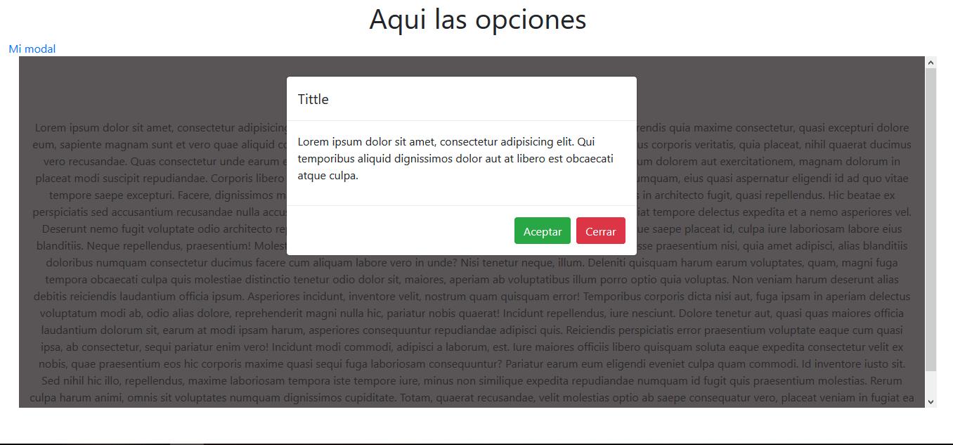 HTML - Problemas ventana modal e iframe